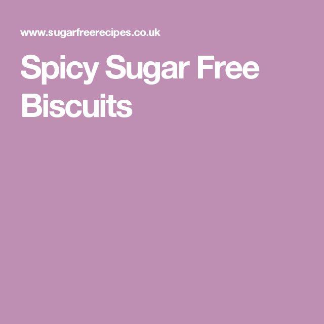 Spicy Sugar Free Biscuits