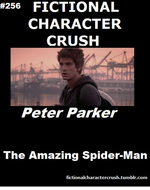 Fictional Character Crush, or I'll just take Andrew Garfield :)