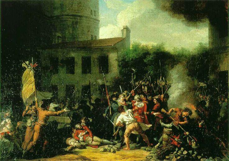 Charles Thévenin - La prise de la Bastille - Prise de la Bastille — Wikipédia