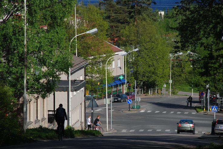 #Imatra, #Finland, part of city Imatra called Vuoksenniska by Maija S.