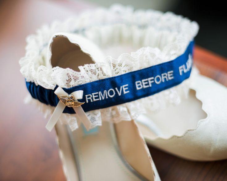 Remove Before Flight // A Pilot's Wife Garter