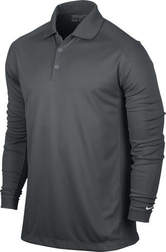 Made from 100% polyester this mens UV Victory golf polo shirt by Nike offers Dri-Fit UV technology to keep you warm and comfortable when out on the course