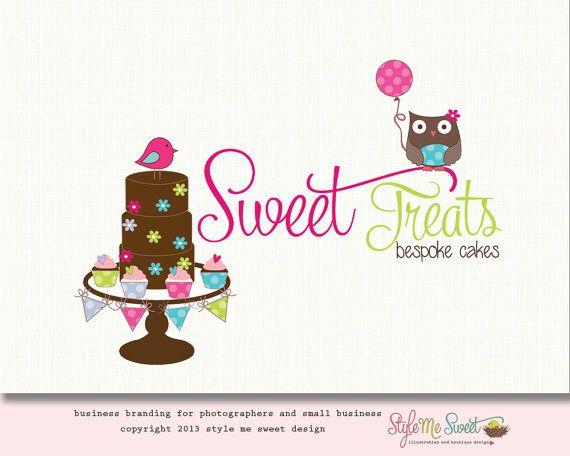Sweet Cakes Bespoke Bakery Logo