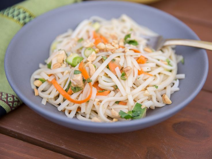 Get this all-star, easy-to-follow Asian Chicken Noodle Salad recipe from Katie Lee
