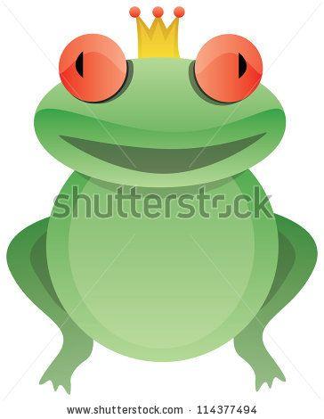 Frog prince - stock photo