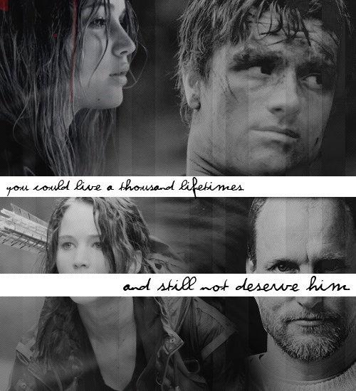 The Hunger Games  Peeta & Katniss