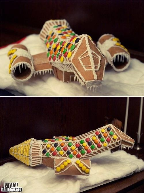 GINGERBREAD SERENITY! This needs to happen this Christmas!: