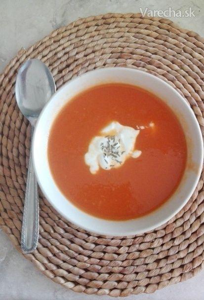 Mrkvovo-paradajková polievka - Recept