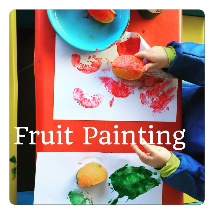 Fruit painting