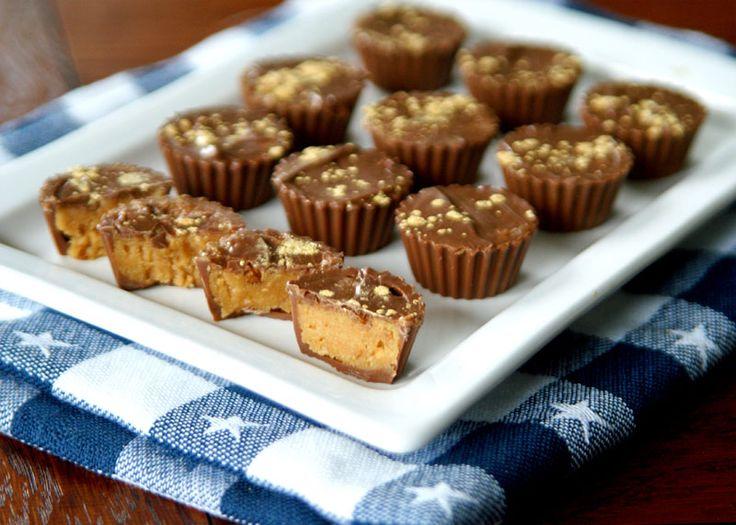 Peanut Butter Cups homemade – wie die von Reeses