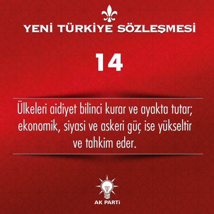 14.Madde, #YeniTürkiyeSözleşmesi