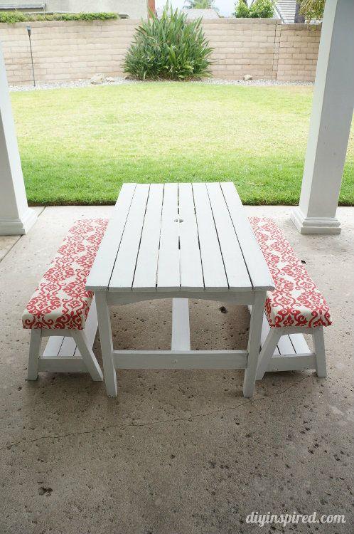 Best 25 Picnic Table Paint Ideas On Pinterest Picnic Tables Outdoor Picnic Tables And Garden