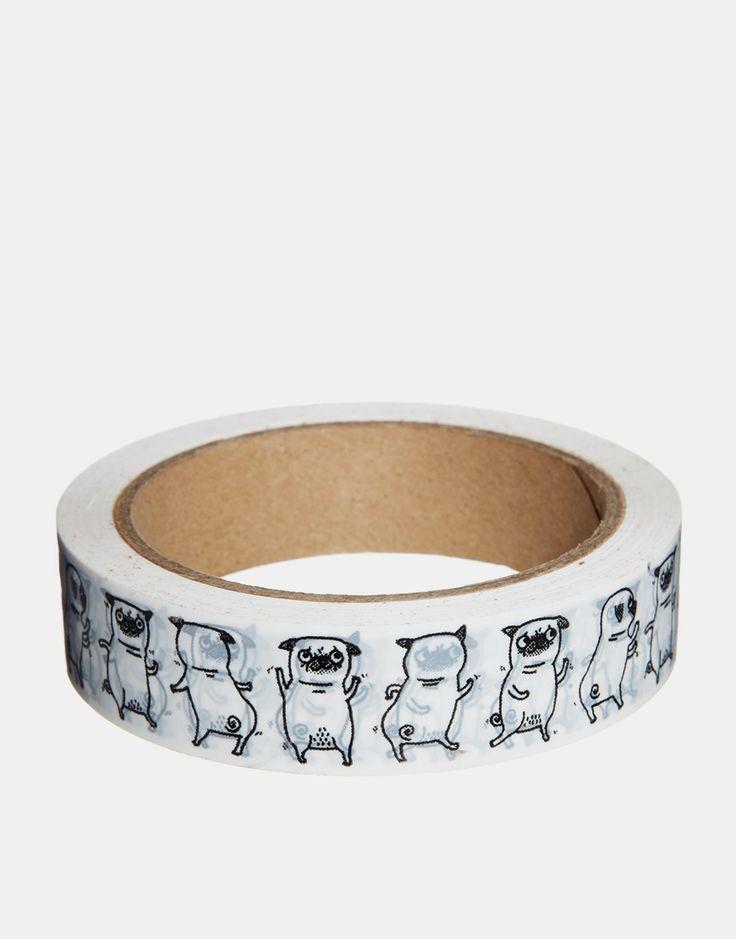 Bild 1 von Ohh Deer – Geschenkband mit Mops-Motiv