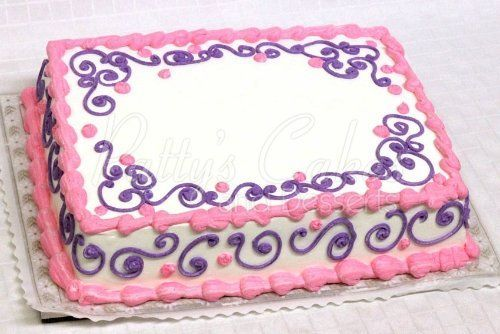 pink and purple sheet cakes teen - Google Search