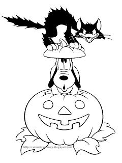disney coloring pages halloween pictures to colourhalloween coloringdisney