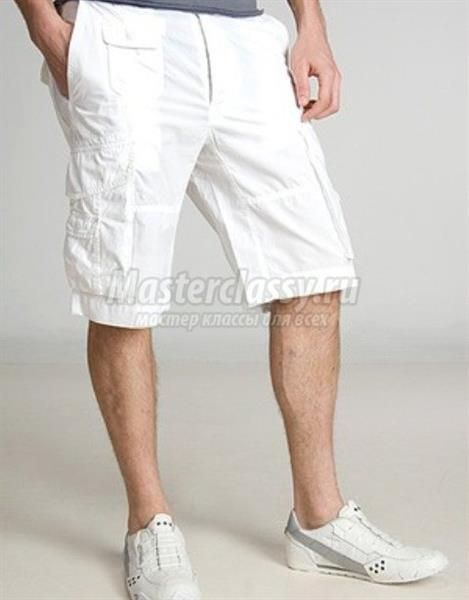 Шорты до колен мужские