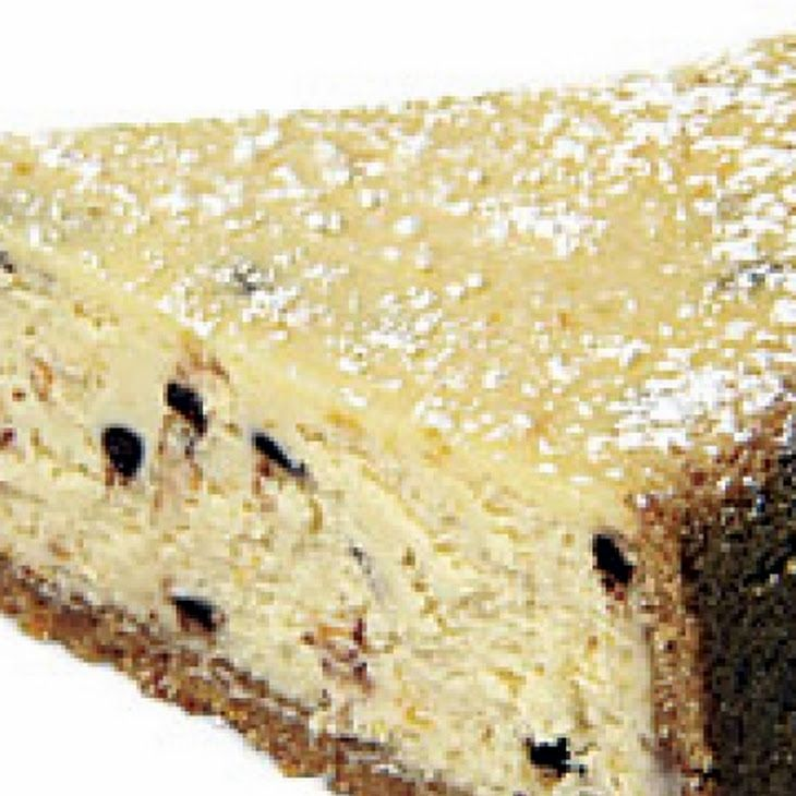Food Network Cannoli Chocolate Chip Cheesecake Recipe