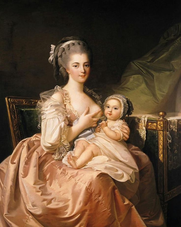 Jean Laurent Mosnier - The Young Mother