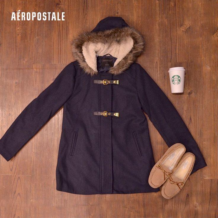 Abrigos y chamarras Aéropostale para chicas | Un buen abrigo y  un buen café para sobrevivir al invierno #Aero #AeropostaleMx #AeroHolidayMx #holiday