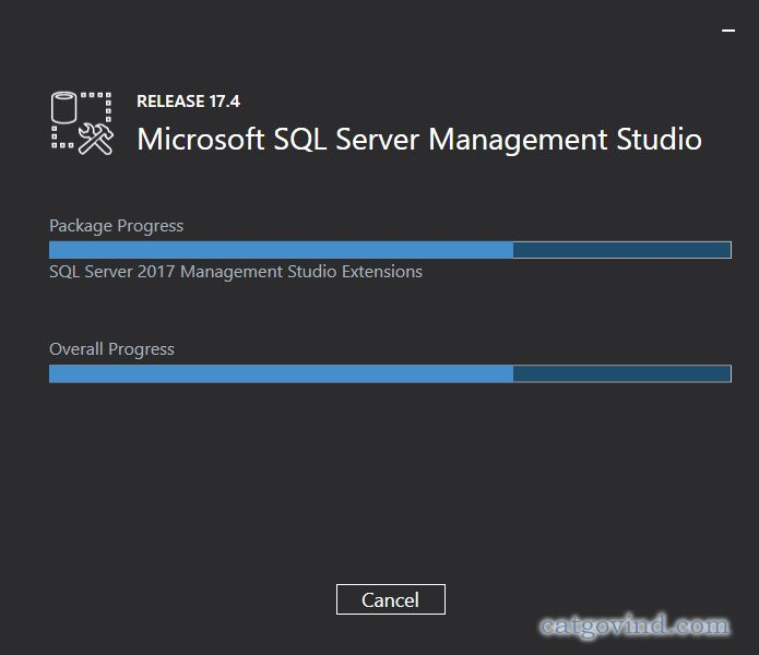 How to install Microsoft SQL Server Management Studio 2017 - Part 3