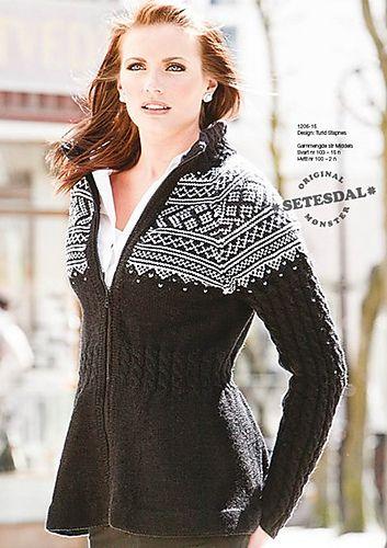 Ravelry: Viking Superwash Jakke 1206-15 pattern by Turid Stapnes - free knitting pattern