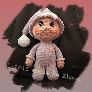 Cute Amigurumi Doll - FREE Crochet Pattern / Tutorial