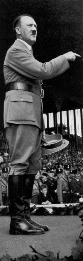 Adolf Hitler at the Nuremberg Rally, Germany