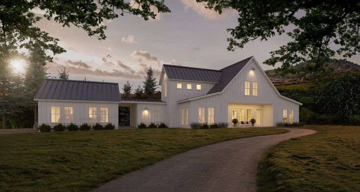Plan 888 1 Houseplans LOVE THIS MODERN FARMHOUSE House plans