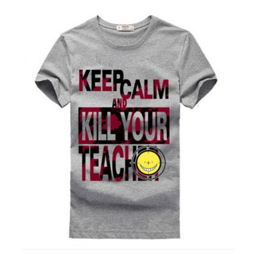 Assassination Classroom Tshirt Keep Calm And Kill Your