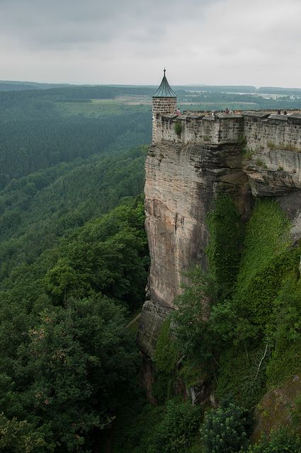 Fortress Königstein, Saxony, Germany. Photo by Marjolein Vegers.