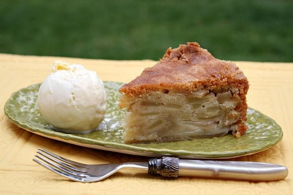 Apple Pie Cake - RecipeGirl.com