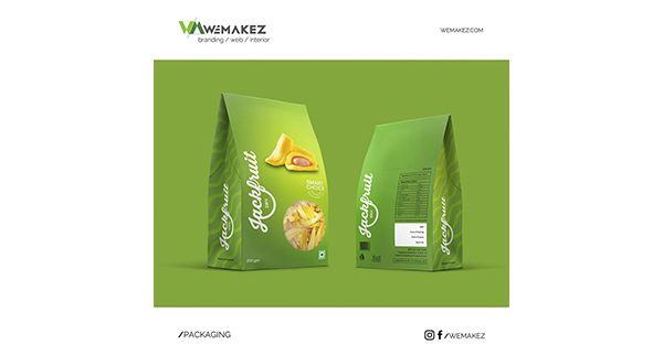 Client : OM FOODS Reach us - www.wemakez.com or 9809241824 Wemakez PACKAGING DESIGNING What is a good pack design? Is it about making a pack stand out on the shelf? Is it about the colors? The graphics? The form? At wemakez packaging design is more than just the way it looks. We believe the packaging must do three things. First, it must evoke a response. Trigger emotions that compel the shopper to pick it up. Secondly, it must tell a good story. Often, the pack is the only source for a brand…