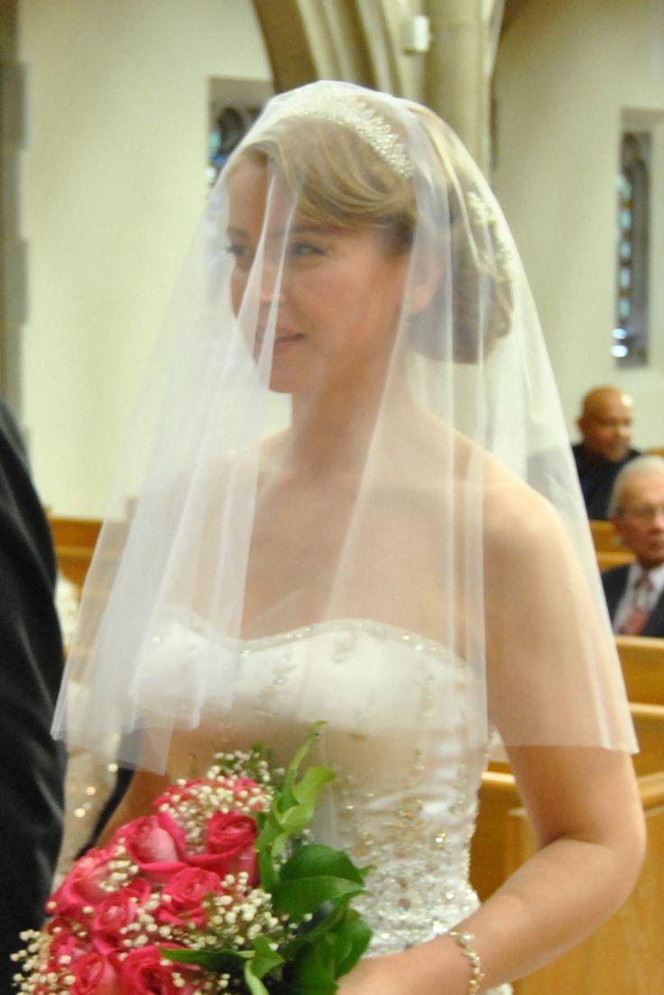 34 best drop wedding veil images on Pinterest | Wedding ...
