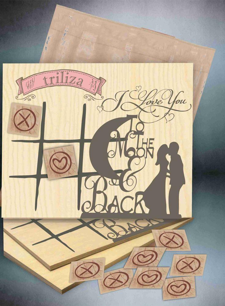 Ξύλινα παιχνίδια - μπομπονιέρα γάμου wooden toy as a gift to marriage