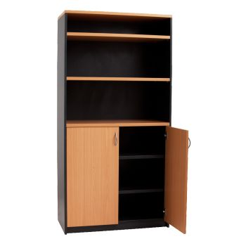 Beech / Ironstone Wall Unit  http://keenoffice.com.au/product/beech-ironstone-wall-unit-2/