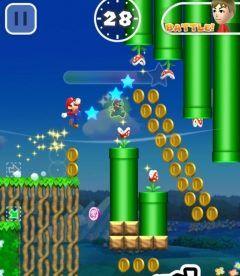 あのスーパーマリオがスマホゲームになった  スマホゲームアプリSuper Mario Runが配信されました  基本はこれまでのマリオゲームですが魅力は何と言っても スマホならではの片手でタップで決められる爽快なアクション   序盤のステージは無料でプレイできるのでインストールして遊んでみてください( )