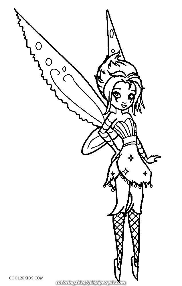 Terrific Kids 39 S Emo Printable Coloring Pages Cool2bkids Tinkerbell Coloring Pages Fairy Coloring Fairy Coloring Pages