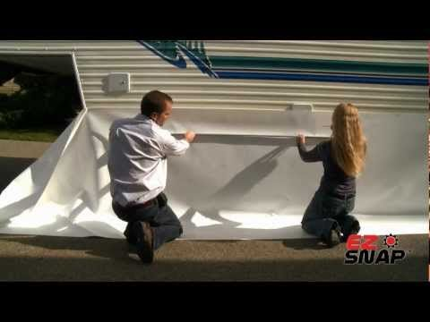 RV Skirting and Fifth Wheel RV Skirting - Winterize with RV Skirting and Save