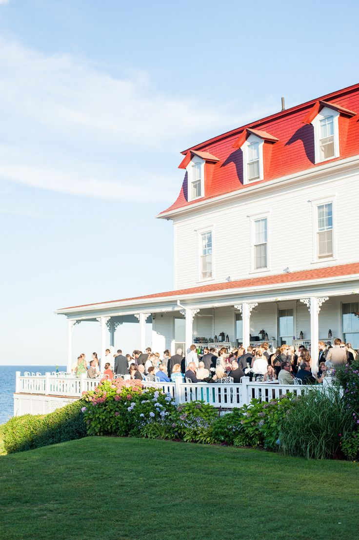 Block Island Wedding At The Spring House Hotel