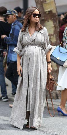 Bump style- Mira Duma Wrap Dress
