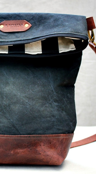R. Riveter Military Bags Mrs. Bradley for BourbonandBoots.com