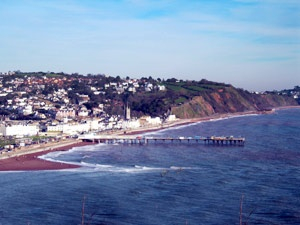View of Teignmouth from the Pier - Looking towards Dawlish many summers spent here