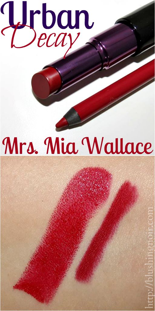 Urban Decay x Pulp Fiction Collection Mrs. Mia Wallace