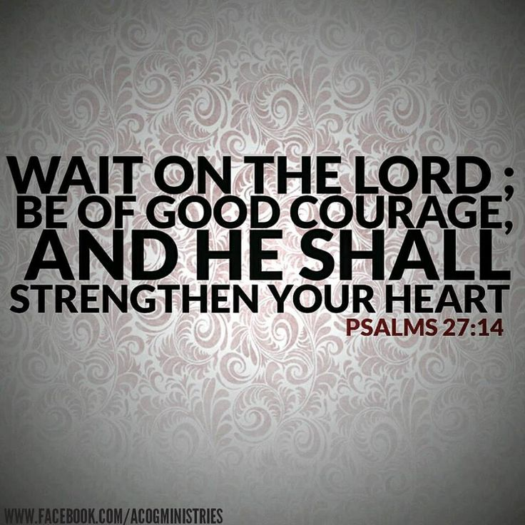 Waiting On The Lord Quotes. QuotesGram