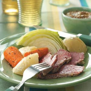 Traditional Boiled Dinner -- might do this, minus the meat.