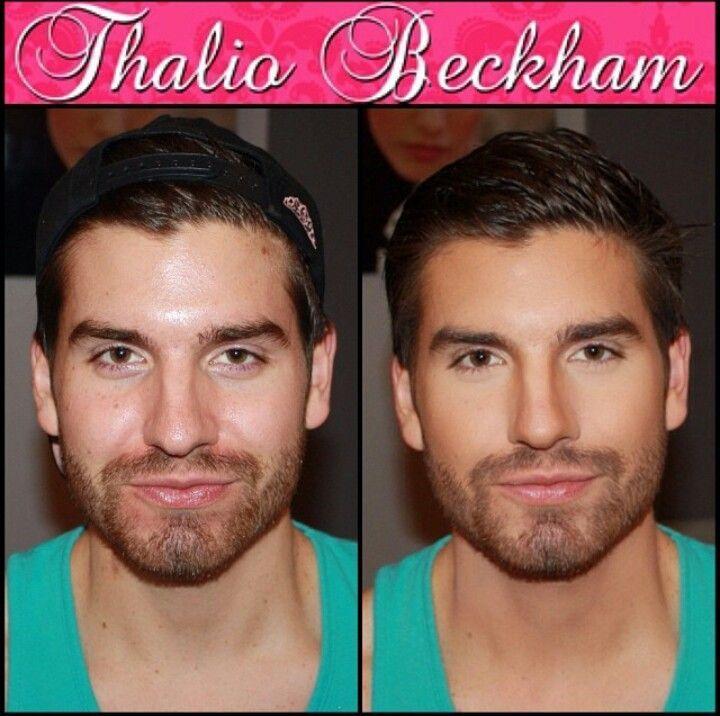 Как сделать мужской макияж девушке