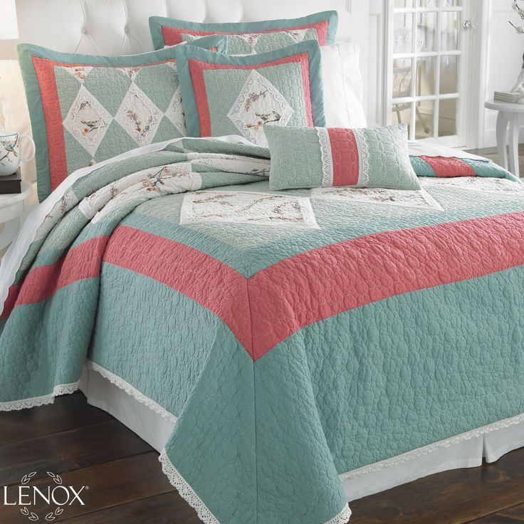 Chirp Quilt Bedding - A Lenox