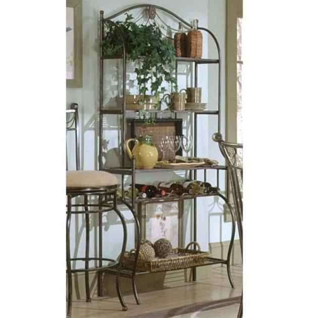 Hillsdale Camelot Bakers Rack   Home And Garden Design Ideas