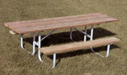 8 ft double sided ada wooden picnic table picnic tables for 10 ft picnic table