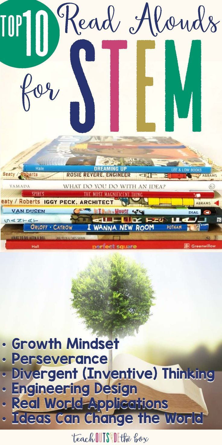 Top 10 Read alouds for STEM
